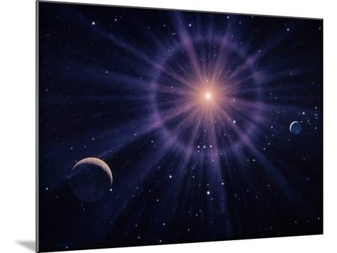 Art of Betelgeuse As Supernova-Joe Tucciarone-Mounted Photographic Print