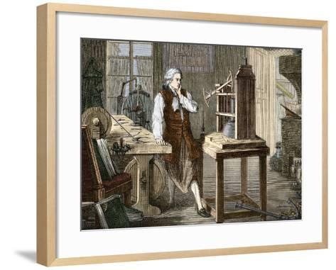 James Watt (1736-1819)--Framed Art Print