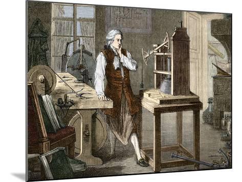 James Watt (1736-1819)--Mounted Photographic Print