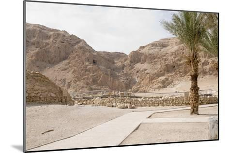 Archaelogical Site of Qumran--Mounted Photographic Print