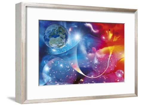 Wormhole, Conceptual Artwork-Detlev Van Ravenswaay-Framed Art Print
