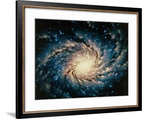 Artwork of the Milky Way, Our Galaxy-Joe Tucciarone-Framed Art Print