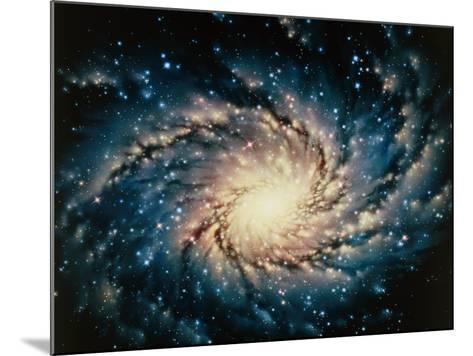 Artwork of the Milky Way, Our Galaxy-Joe Tucciarone-Mounted Photographic Print