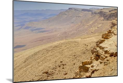 Ramon Crater, Negev In Israel--Mounted Photographic Print