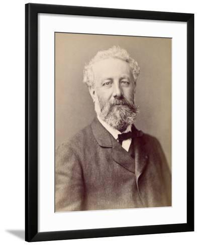 Jules Verne, French Novelist--Framed Art Print