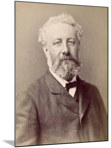 Jules Verne, French Novelist--Mounted Photographic Print
