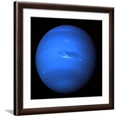 Neptune, Voyager 2 Image--Framed Art Print