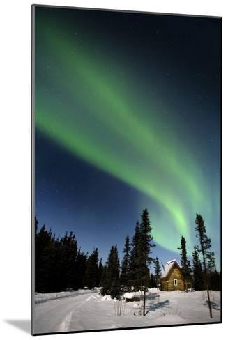 Aurora Borealis In Alaska-Chris Madeley-Mounted Photographic Print