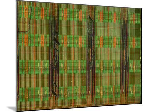 Microchip, Light Micrograph-Robert Markus-Mounted Photographic Print