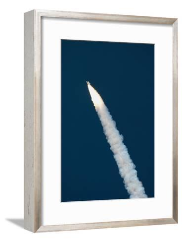 Launch of Space Shuttle STS-5--Framed Art Print