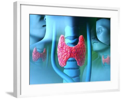 Thyroid Gland-David Mack-Framed Art Print