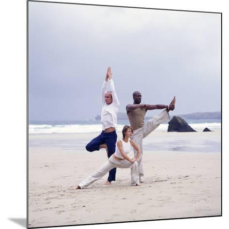 Capoeira And Yoga-Tony McConnell-Mounted Photographic Print