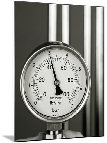 Pressure Gauge-Tony McConnell-Mounted Photographic Print