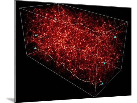 Dark Matter Map-Yannick Mellier-Mounted Photographic Print