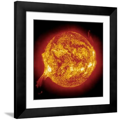 Solar Prominence--Framed Art Print