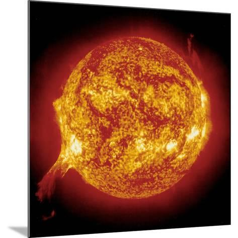 Solar Prominence--Mounted Photographic Print
