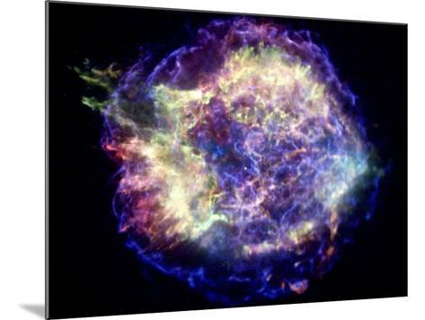 Supernova Remnant Cassiopeia A, X-ray--Mounted Photographic Print