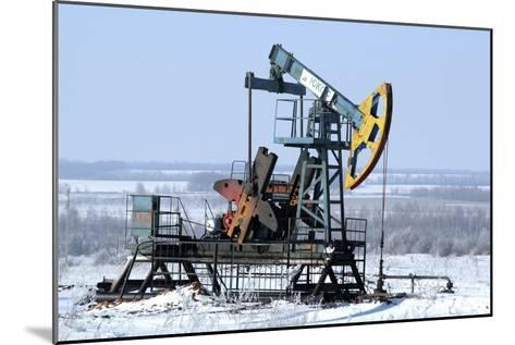 Oil Well Pump-Ria Novosti-Mounted Photographic Print