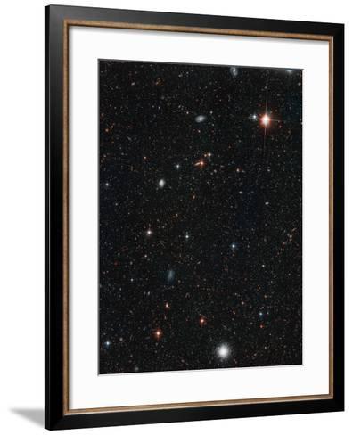 Halo Stars In Andromeda Galaxy--Framed Art Print