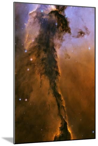 Gas Pillar In the Eagle Nebula--Mounted Photographic Print