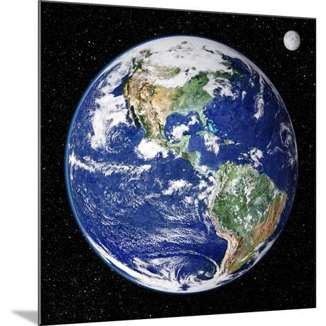 Earth From Space, Satellite Image--Mounted Photographic Print
