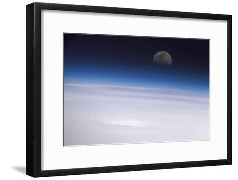 Hurricane Emily, ISS Image--Framed Art Print