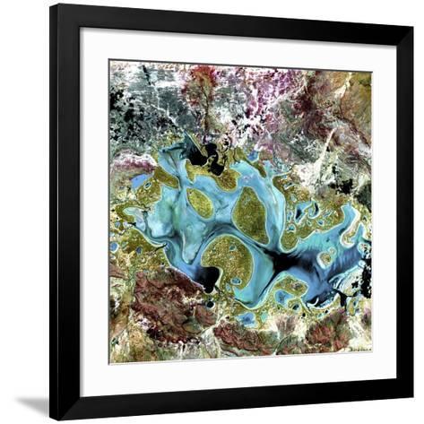 Lake Carnegie, Australia--Framed Art Print