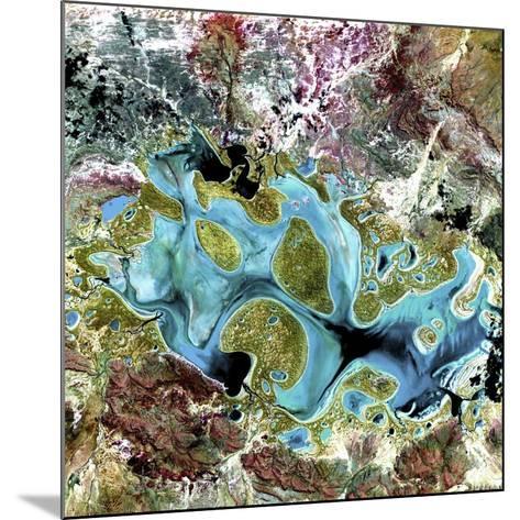 Lake Carnegie, Australia--Mounted Photographic Print