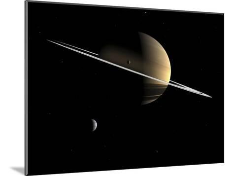 Saturn, Artwork-Walter Myers-Mounted Photographic Print