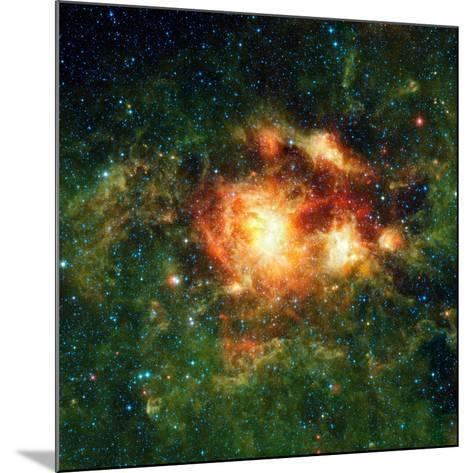 Star-birth Region, Space Telescope Image--Mounted Photographic Print