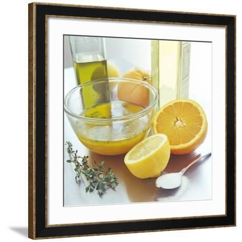 Salad Dressing-David Munns-Framed Art Print