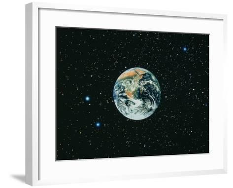 The Earth Seen From Apollo 17--Framed Art Print