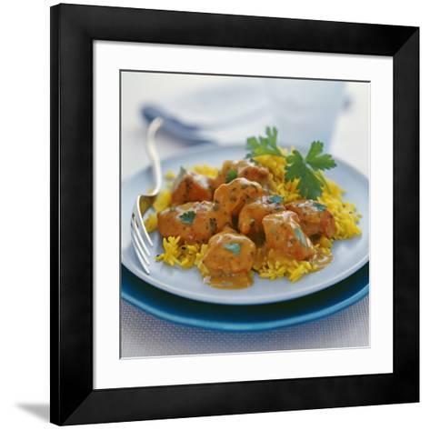 Chicken Curry-David Munns-Framed Art Print
