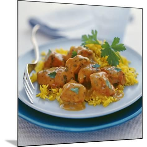 Chicken Curry-David Munns-Mounted Photographic Print