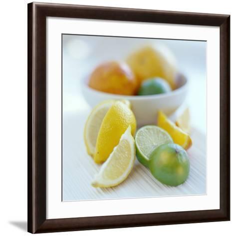 Citrus Fruits-David Munns-Framed Art Print