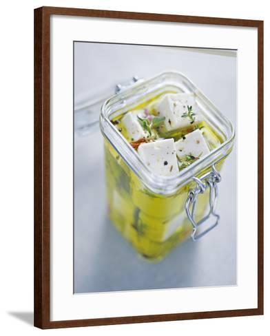 Feta Cheese-David Munns-Framed Art Print
