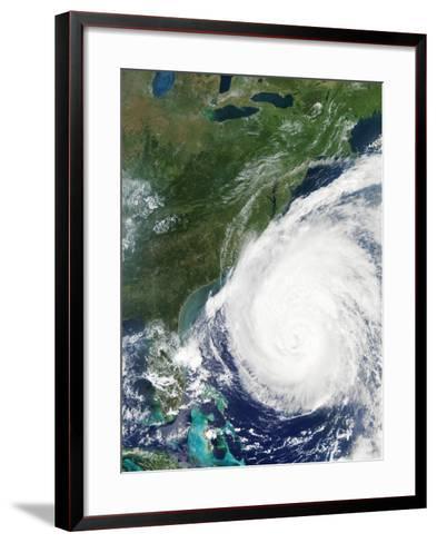 Hurricane Isabel, 17th September 2003--Framed Art Print