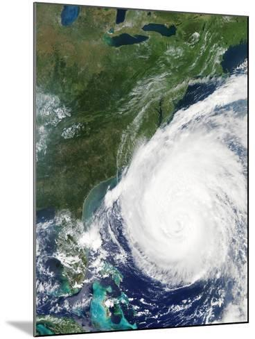 Hurricane Isabel, 17th September 2003--Mounted Photographic Print