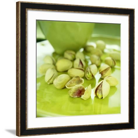 Pistachio Nuts-David Munns-Framed Art Print