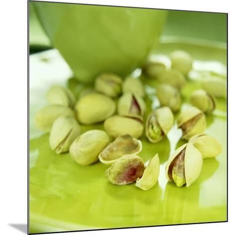 Pistachio Nuts-David Munns-Mounted Photographic Print