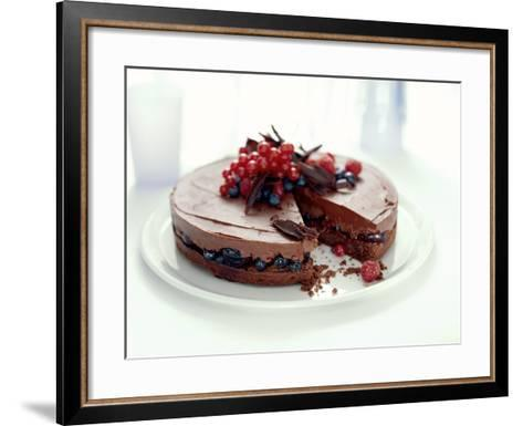Chocolate Pudding-David Munns-Framed Art Print