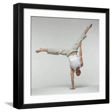 Yoga Pose-Tony McConnell-Framed Art Print
