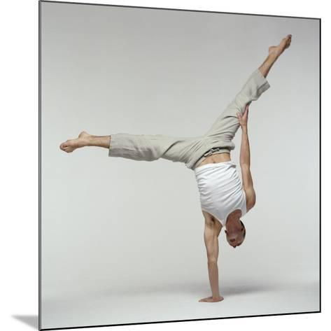 Yoga Pose-Tony McConnell-Mounted Photographic Print