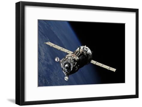 Soyuz TMA-19 Departing the ISS, 2010--Framed Art Print