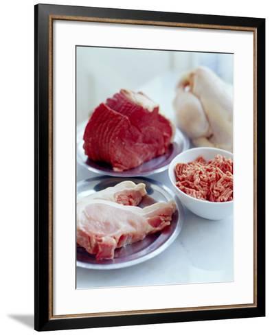 Assorted Meats-David Munns-Framed Art Print