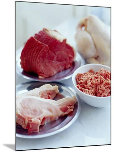 Assorted Meats-David Munns-Mounted Photographic Print