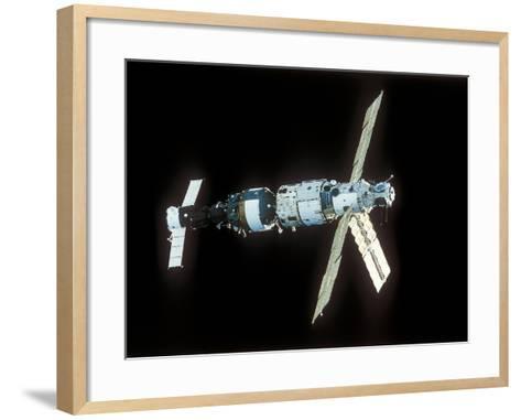 Mir Space Station-Ria Novosti-Framed Art Print