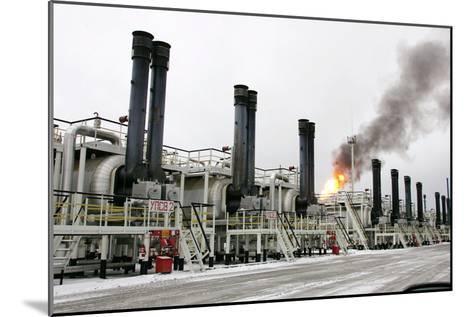 Oil Refinery-Ria Novosti-Mounted Photographic Print