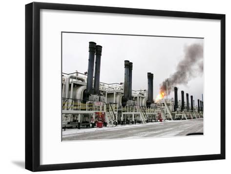 Oil Refinery-Ria Novosti-Framed Art Print