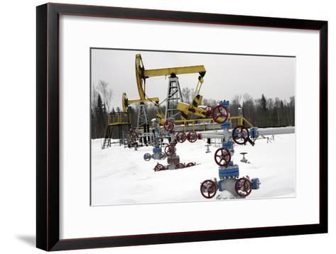 Oil Field-Ria Novosti-Framed Art Print